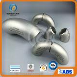 Industrial de acero inoxidable codo con PED 90d de tubo roscado (KT0351)
