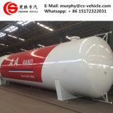 50000リットルLPGの貯蔵タンク25tons LPGのスキッドタンク50m3によって使用されるLPGガスタンク