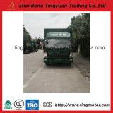 Caminhão da caixa leve de China HOWO 4X2 Euro2 85HP para a venda