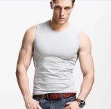 L'OEM a personnalisé le coton des hommes de sports de forme physique de Gyms/gilet de Spandex