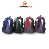 Moda mezcla de color Chubont impermeable Laptop School Bag Deportes Mochila