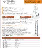 Escada um-Shaped do alumínio da escada de 13 etapas