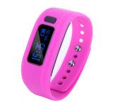O Bluetooth 4.0 Bracelete inteligente colorida com função Anti-Lost (E02)