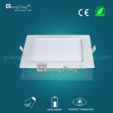 Square 24W Downlight LED del panel de iluminación LED para oficina en casa