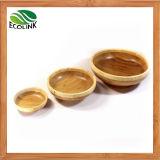 Natürliches Bambussalat-Filterglocke-Set