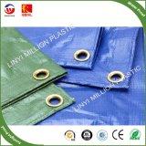 O Plástico Verde prata PE oleados 6*4YD