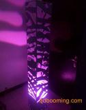 Galvanizado en 3D Las Torres de patrón de bambú color gris