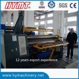 W11H-20X2500 hidráulica Rolos inferiores Máquina de laminação de dobra de chapa de ajuste de arco