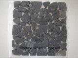 Schwarze Badezimmer-Garten-Granit-Fliese für Dekoration