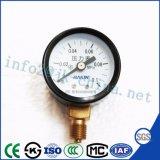 60mmのより安い価格の最上質の概要の圧力計
