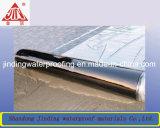アルミホイルの表面の自己接着防水膜