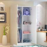 De klantgerichte Eenvoudige Garderobe van 2 Deuren