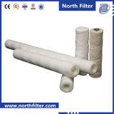 Élément filtrant de l'eau de blessure de fil de fournisseur de la Chine
