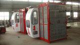 Double élévateur de construction des cages Sc150/150