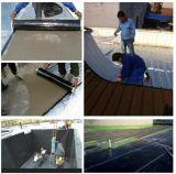 屋根ふきのための黒いHDPEの自己接着瀝青の防水膜