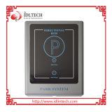 Leitor de RFID de acesso mãos livres no parque de estacionamento
