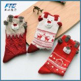 Meia 100% da peúga do Natal da decoração do Natal do algodão com alta qualidade
