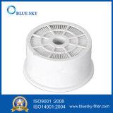 Белый круговой фильтр HEPA для пылесоса