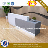 강철 금속 겸손 위원회 강화 유리 수신 테이블 또는 책상 (HX-8N1807)