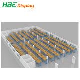 中型の義務の保管倉庫ラックシステム