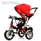 Stahlrahmen-Material und Baumwollmaterieller Baby-Spaziergänger