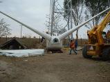 Большие ветротурбина/генератор энергии ветра (100kW) для коммерческого использования