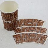 Ventilateur de papier de cuvette de café de Caoted de PE avec le modèle de mode