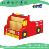 Mensola di libri del bambino del modello di autocarro del fumetto del banco (HG-6010)