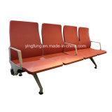 Hôtel moderne de meubles de l'aéroport chaise métallique en acier inoxydable