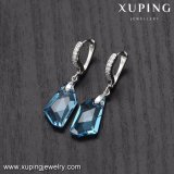 Xupingの流行の熱い販売の宝石類、Swarovskiの水晶コレクションのオーストリアの水晶イヤリングからの水晶