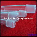 Macho y hembra de resistencia al calor de tubo de conjuntos de cuarzo