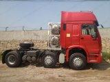 수송을%s 371-420HP HOWO 6X2 트랙터 트럭 Sinotuck 트레일러