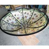 Kunst-Farbanstrich-Entwurfs-InnenBuntglas-Abdeckung-Tiffany-Lampe