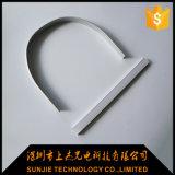 Flexibele LEIDEN van het Aluminium Profiel voor het LEIDENE Licht van de Strook met de Kappen van het Eind en Steunen