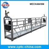 Aço da série de Zlp ou plataforma suspendida Alumium da corda