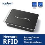 SCR100ネットワークRFIDアクセス制御Keypad&Timeの出席