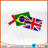 Pays Part d'un drapeau avec pôle