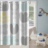 Novo Design Personalizado Home Hookless cortina do chuveiro sem a camisa