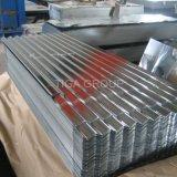 Zinc étanche et résistant de toiture en métal peint de couleur des feuilles de toit en acier galvanisé