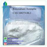 99% 체중 감소 약 스테로이드 분말 Rimonabant (ACOMPLIA) CAS 168273-06-1