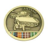 Militärandenken-Münze des förderndes antikes Gold3d (Ele-C118)