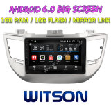 "Witson 9"" на большой экран Android 6.0 DVD для автомобилей Hyundai Tucson/IX35 (низкая) 2016"