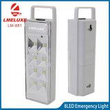 La luz de emergencia recargable LED portátil