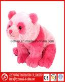 Giocattolo della peluche di colore di colore rosa caldo del regalo del panda