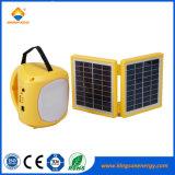 옥외 야영을%s 재충전용 소형 태양 LED 손전등 램프