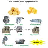 Os chips de Batata Frita francês/Stick fazendo a máquina/Linha de Produção
