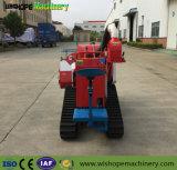 水田機械農業機械はパキスタンでクローラー収穫機のコンバインを使用した