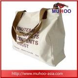 ショッピングのための方法女性の戦闘状況表示板のハンドバッグのキャンバスか綿袋