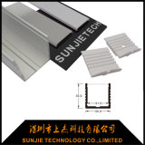 35X35mm lineares LED Aluminiumprofil mit anodisierter Fertigstellung