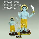 De in het groot Decoratie van de Giften van de God van de Hars Indische